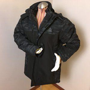 Dual Layer Reebok Camo Black Medium Mens Coat